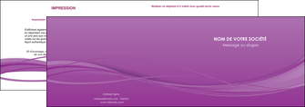 impression depliant 2 volets  4 pages  web design fond violet fond colore action MIF69795