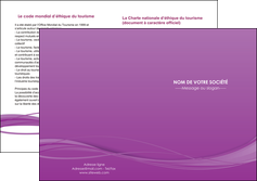 creer modele en ligne depliant 2 volets  4 pages  web design fond violet fond colore action MIF69819