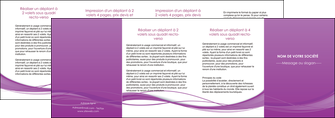 creer modele en ligne depliant 4 volets  8 pages  web design fond violet fond colore action MIF69829