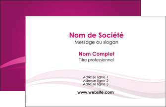 personnaliser modele de carte de visite violet violace fond violet MIF69831