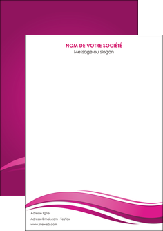 personnaliser maquette flyers violet violace fond violet MIF69833