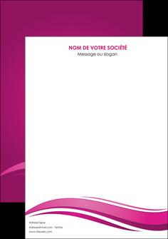 realiser affiche violet violace fond violet MIF69839