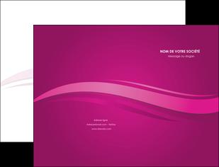creation graphique en ligne pochette a rabat violet violace fond violet MIF69843