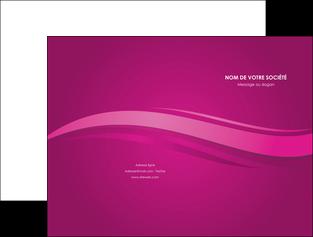 creer modele en ligne pochette a rabat violet violace fond violet MIF69845