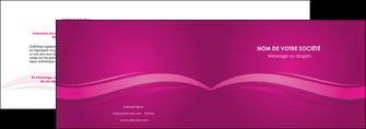 imprimerie depliant 2 volets  4 pages  violet violace fond violet MIF69847