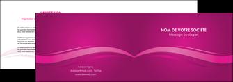 imprimer depliant 2 volets  4 pages  violet violace fond violet MIF69849