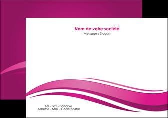 modele flyers violet violace fond violet MIF69855