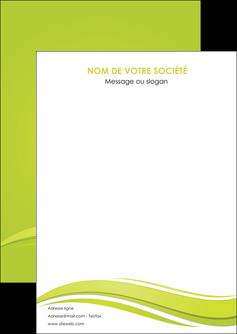 Mod le flyer a6 10 5 x 14 8 cm espaces verts personnaliser for Flyer espace vert