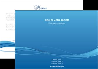 realiser set de table bleu bleu pastel fond bleu MIF70049