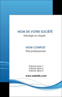 cree carte de visite bleu bleu pastel fond bleu MIF70059