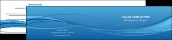 creation graphique en ligne depliant 2 volets  4 pages  bleu bleu pastel fond bleu MIF70085