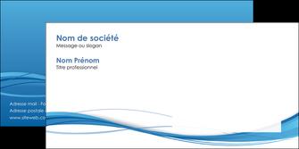 creer modele en ligne enveloppe bleu bleu pastel fond bleu MIF70087