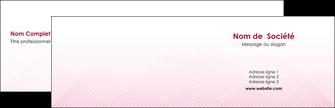 realiser carte de visite rose rose tendre fond en rose MLGI70213