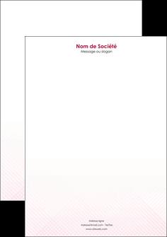 exemple tete de lettre rose rose tendre fond en rose MIF70237