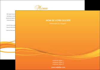 cree set de table orange couleur couleurs MIF70379