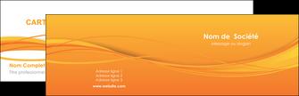 imprimerie carte de visite orange couleur couleurs MIF70387