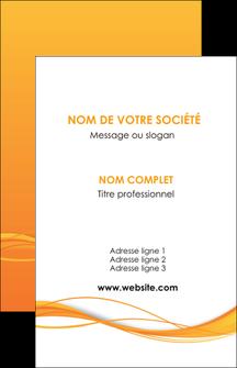 creer modele en ligne carte de visite orange couleur couleurs MIF70389
