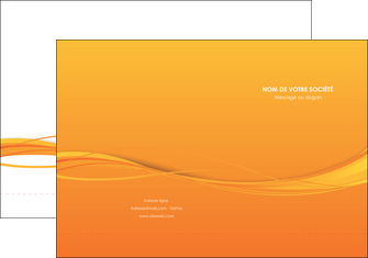creer modele en ligne pochette a rabat orange couleur couleurs MIF70393