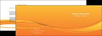 impression depliant 2 volets  4 pages  orange couleur couleurs MIF70395