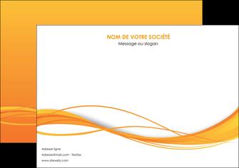 creation graphique en ligne affiche orange couleur couleurs MIF70397