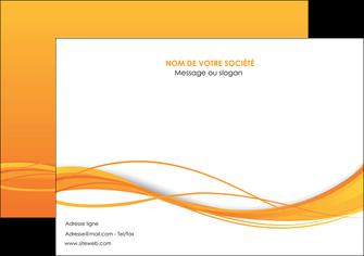 modele affiche orange couleur couleurs MIF70403
