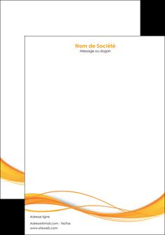 imprimer tete de lettre orange couleur couleurs MIF70411
