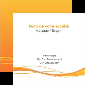 modele en ligne flyers orange couleur couleurs MIF70413