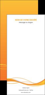 imprimer flyers orange couleur couleurs MIF70429