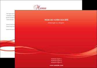 creer modele en ligne set de table rouge couleur couleurs MIF70483