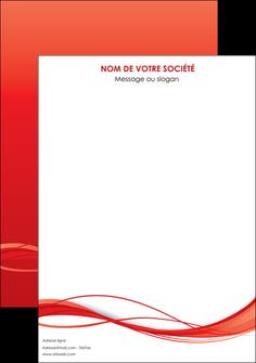 personnaliser modele de affiche rouge couleur couleurs MIF70485