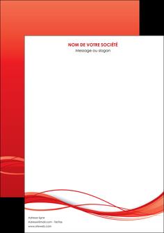 creation graphique en ligne affiche rouge couleur couleurs MIF70487
