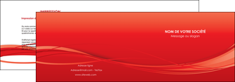 faire depliant 2 volets  4 pages  rouge couleur couleurs MIF70499