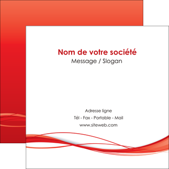 impression flyers rouge couleur couleurs MIF70517