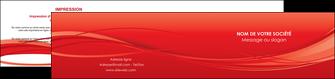 faire modele a imprimer depliant 2 volets  4 pages  rouge couleur couleurs MIF70519