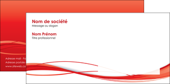 maquette en ligne a personnaliser enveloppe rouge couleur couleurs MIF70521
