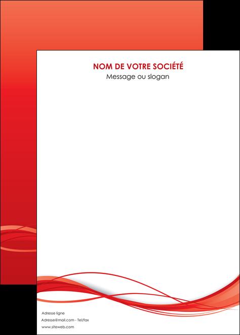 maquette en ligne a personnaliser affiche rouge couleur couleurs MIF70527