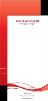 modele en ligne flyers rouge couleur couleurs MIF70533