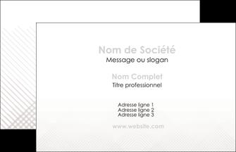 creation graphique en ligne carte de visite gris simple sobre MLGI70699