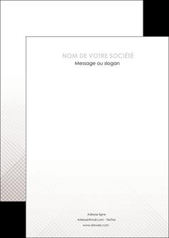 exemple flyers gris simple sobre MLGI70703