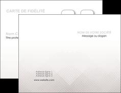 personnaliser modele de carte de visite gris simple sobre MLGI70709