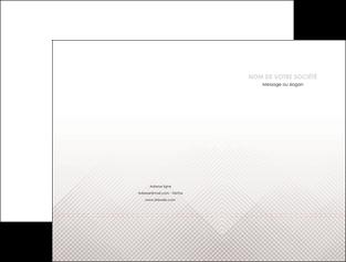 realiser pochette a rabat gris simple sobre MLGI70713
