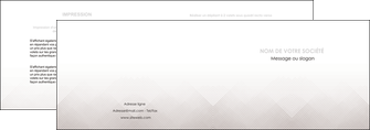 cree depliant 2 volets  4 pages  gris simple sobre MLGI70715