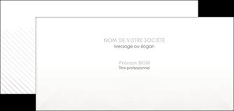 modele carte de correspondance gris simple sobre MLGI70737