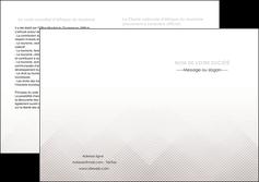 faire modele a imprimer depliant 2 volets  4 pages  gris simple sobre MLGI70739