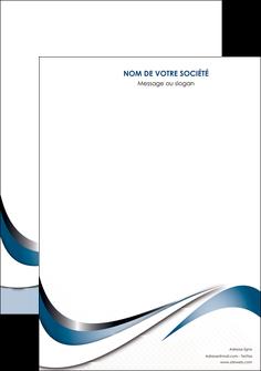impression affiche web design bleu fond bleu couleurs pastels MIF70815