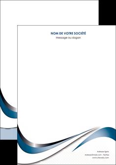 personnaliser maquette affiche web design bleu fond bleu couleurs pastels MIF70817