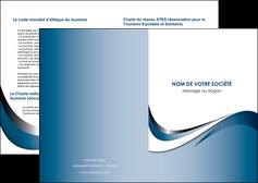 maquette en ligne a personnaliser depliant 2 volets  4 pages  web design bleu fond bleu couleurs pastels MIF70819