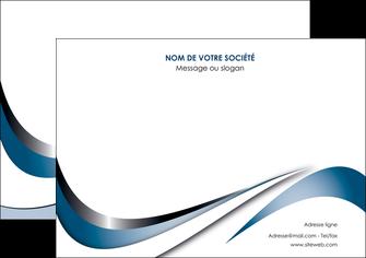 imprimerie affiche web design bleu fond bleu couleurs pastels MIF70837