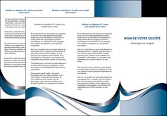 maquette en ligne a personnaliser depliant 3 volets  6 pages  web design bleu fond bleu couleurs pastels MIF70839