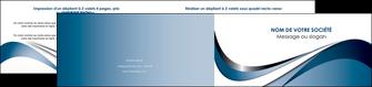 maquette en ligne a personnaliser depliant 2 volets  4 pages  web design bleu fond bleu couleurs pastels MIF70849